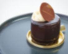 新登場__ヴァローナ社のミルクチョコレートと珈琲の組み合わせ。ラム酒をしのばせて