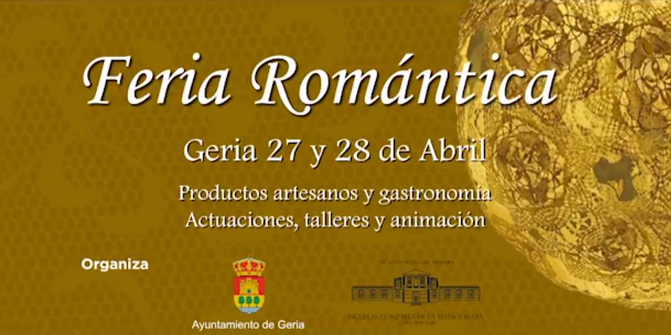 Concierto Feria Romántica De Geria 2019