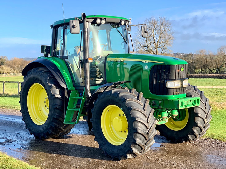 John Deere 6920 only 4500hrs