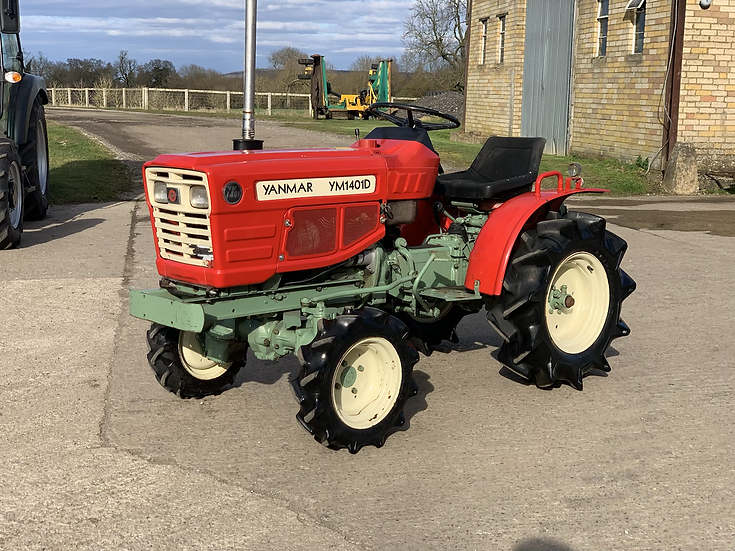 YANMAR YM1401D with topper
