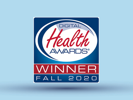 Aventria Health Group Wins an Award in 22nd Annual Digital Health Awards® Fall 2020 Session