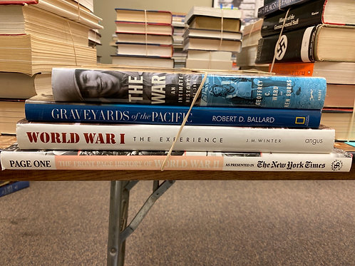 WW II Coffee Table Books