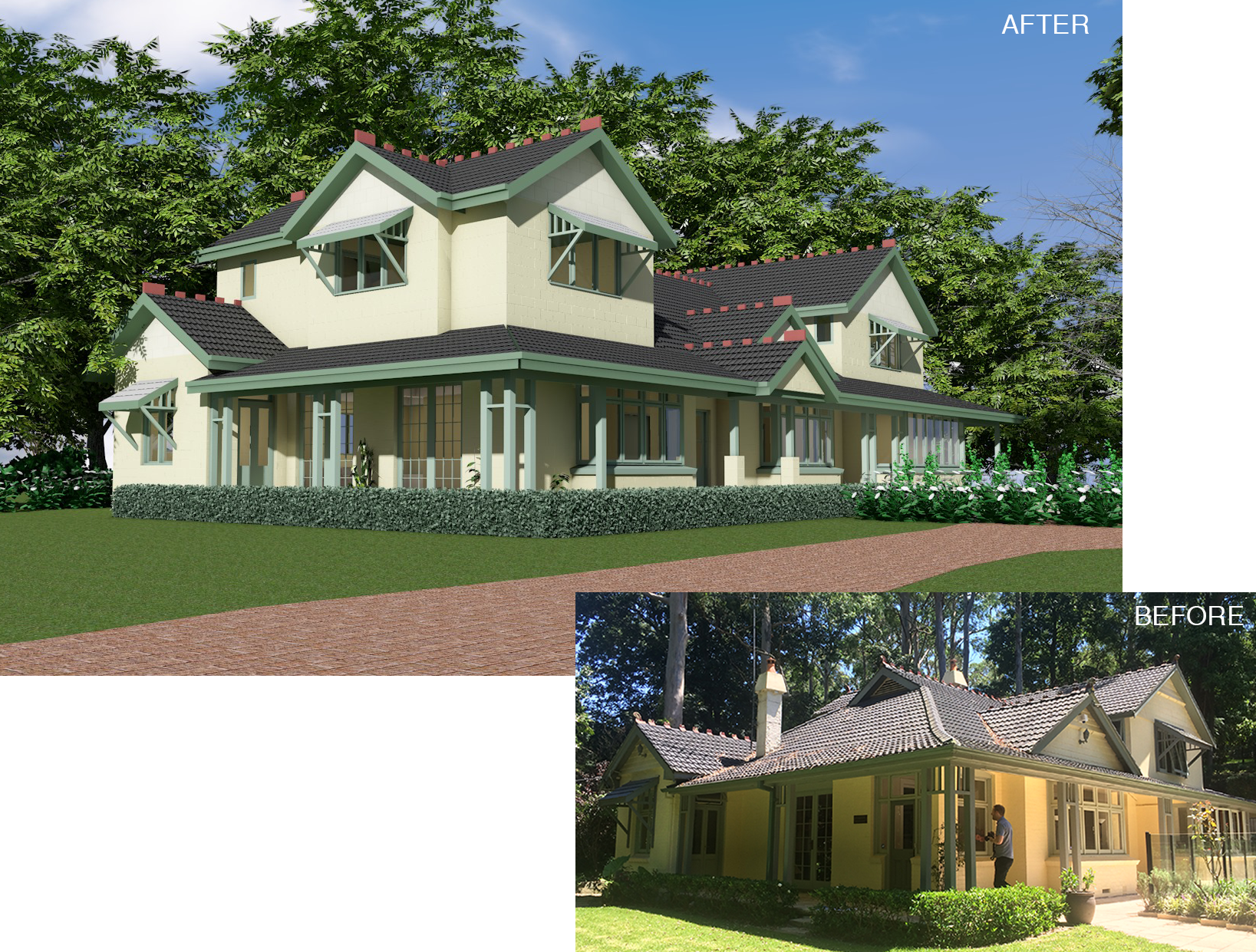 Before & After: Pymble NSW