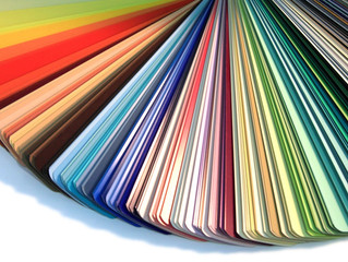 Tip on Choosing Colors For Your Home. Light affects color.