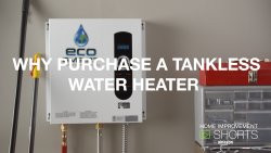 Why Purchase a Tank-less Water Heater. Home & Garden Video Short - Tips & Tricks.