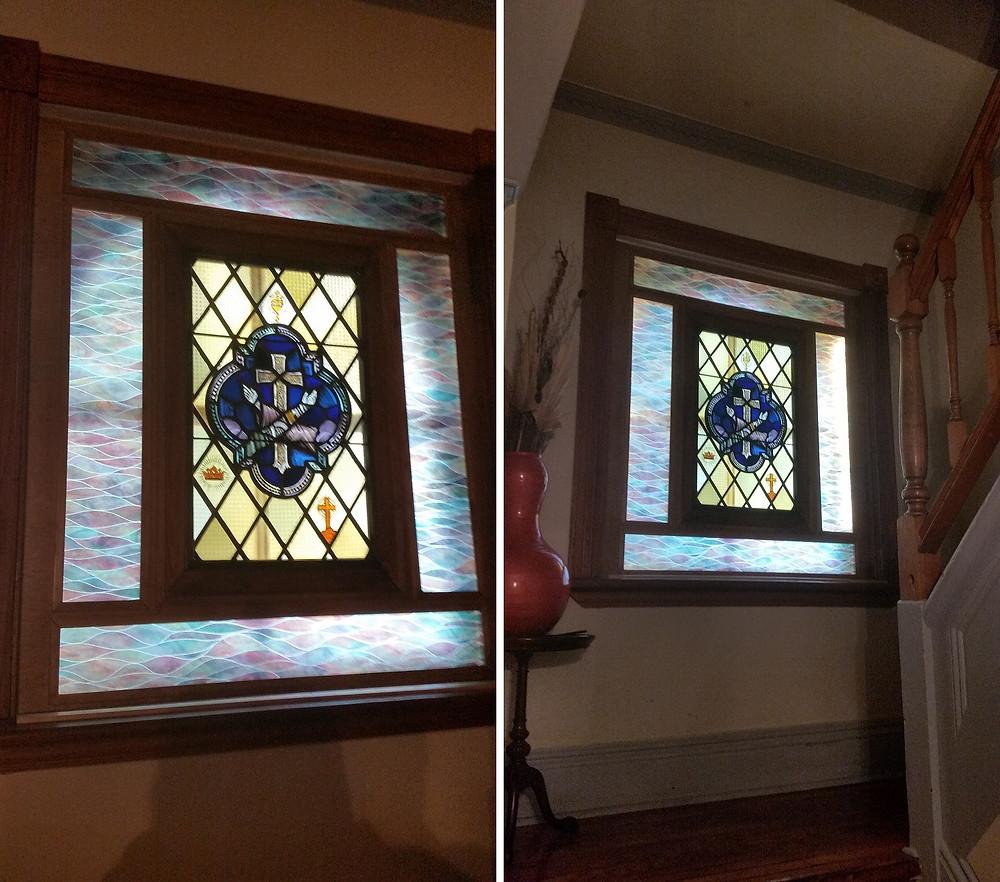 Interior window. Convent Richmond Hill, NY