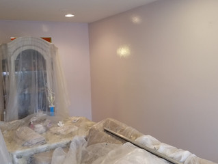 Faux Painting, Frottage. Ozone Park, NY