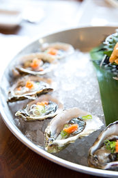 Fresh dressed Oysters