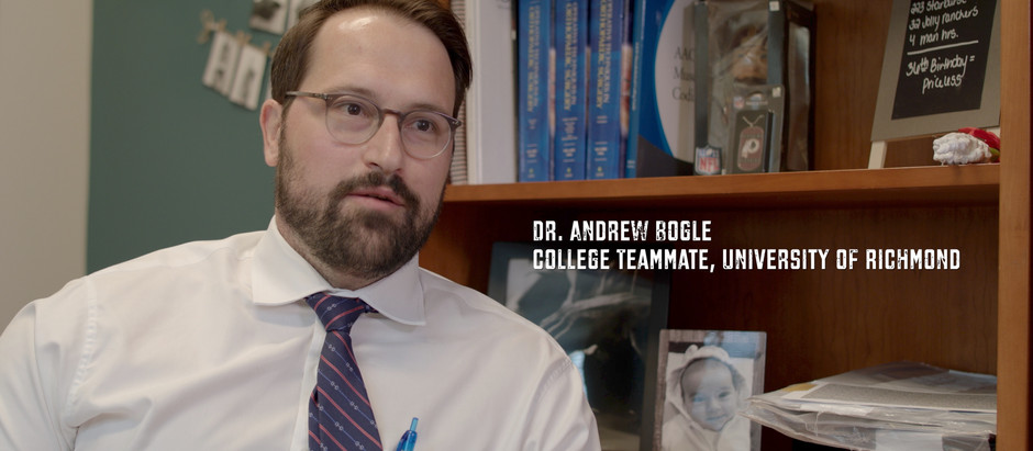 Dr. Andrew Bogle | Carried the relentless torch.
