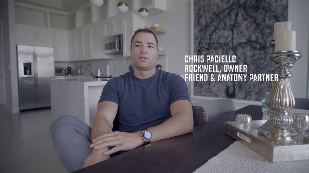 I have a great deal of respect for Chris Paciello . Yes, he's been an awesome business partner, but he also leads by example. Most people want the praise and the applause, but don't want to go through the stuff that isn't glamorous away from the bright lights. The night before we opened I saw something special that most people do not know. As we set up @anatomy 1220 we found ourselves inside a dumpster attempting to smash down all the trash to clear the parking lot. We remained inside that dumpster until the early morning hours. He didn't flinch. Working with his head down with zero rest. At that point I realized we had more in common than I thought and appreciated how fortunate I was to be partnered with Chris. It's hard to find people who will do whatever it takes to make things happen. He does exactly that. Thank you for being a terrific business partner, worker, and sitting down w/ Monarch Productions to be a part of the @justakidfromfallriver film project.