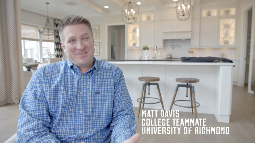 Adjusting to a new environment and group of people is tricky. When I first arrived on campus I thought things would be easy and I would roll through the next four years. Not the case at all.  Training camp, school, and pressure from the coaches was all taken to a level I had never experienced. Matt Davis was a TE at the University of Richmond, dear friend, and warrior. I became very close with Matt and respected him a great deal. He had scholarship offers from several 1A schools including Maryland and Michigan St. He went to Richmond because his brother Mike went to Richmond. We all looked up to Mike because of his toughness and commitment to the TEAM. Matt became a standout TE that helped us tremendously on offense. Not only was he a terrific player, but you wanted him on your side if you were going into any game. We learned a lot about each other during the toughest times. Tough times do not build character they reveal it.