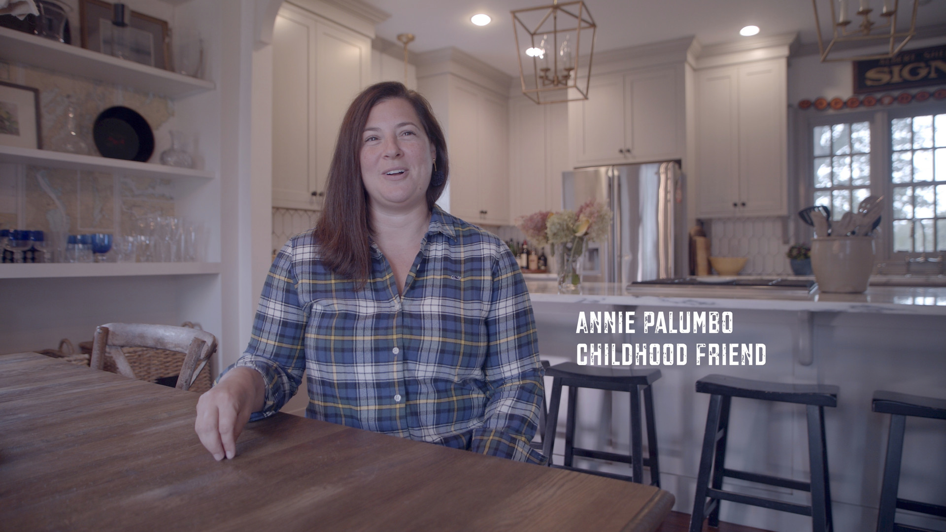 """This is my friend Annie Palumbo. We grew up together in Fall River, Massachusetts. At our 1st grade graduation her father brought in a VHS camera to film the ceremony. During graduation each student was asked which profession they wished to pursue. Down the line they went. The answers were mixed. Lawyer, doctor, police officer, veterinarian, etc. When turn came I was so nervous, but had decided I would share my dream. """"What do you want to be when you grow up Marc?"""" """"I want to play professional football for the New England Patriots."""" The entire room erupted with laughter. I'm sure it was funny coming from a small boy who had no idea what that actually meant. However, I learned a very valuable lesson. Our greatest detriment is not setting a goal too high it's setting a goal too low. When people laugh at your goals take it as a positive. That means you're aiming high. Shoot for the things that other people say you can't have and go to work. This approach has nothing to do with proving yourself to others. It has everything to do with putting in the work, making the sacrifices, and following through. Thank you Annie for your life long friendship and sitting down with @monarchproductions to be a part of the @justakidfromfallriver film project. #508"""