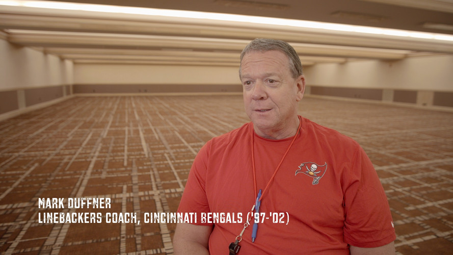 I've had the great privilege of learning and being coached by several special men. Mark Duffner is certainly one of the best. Coach Duff was my linebacker coach in Cincinnati. He had a knack for teaching life with analogies from the game of football. He was known for his high football acumen and being connected with his players. With 45 years of coaching experience I can tell you he taught me more about life than football. We even maintain a friendship today. Extraordinary men like Coach Duff and many more are featured in the upcoming Just A Kid From Fall River documentary. Thank you Coach for passing on so many wonderful life lessons to the players under your watch. I'm grateful you took time out of your crazy schedule to sit down with Director Randy West of Monarch Productions for this awesome interview.