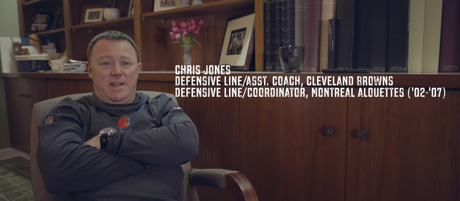 Chris Jones | Work ethic, effort and production.