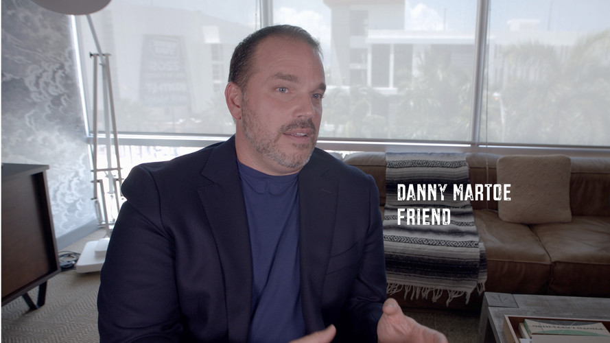When I first arrived in Miami I didn't know anyone. I was probably better off. I focused on my work and developing my skill set. I focused on clients during work hours and continuing education in my free time. During that time I met Danny Martoe. He was a young aspiring sports agent from the Northeast. He appreciated my work ethic and became a friend. We had a few things in common. Football, training, and working toward a better life. I remember him coming over to assist me with getting my ideas on paper. Not many would have went out of their way to do so. I'm grateful for his time and friendship. Thank you for being a part of the Just A Kid From Fall River documentary.