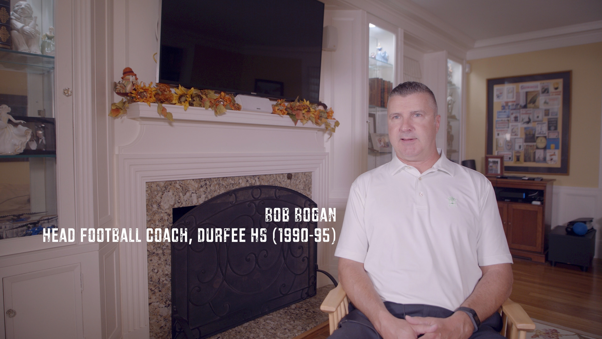 """This is Bob Bogan. He was my Highschool football coach and one of the few people that believed in me. He pushed me very hard. One day he told me that I had to give more than everyone else to be great person and football player. At the time I didn't know what it meant. However, whenever he saw me giving less than my best he hammered me. He didn't want me to be average. He would scream """"push yourself! World harder!"""" It sunk in. I'll forever be in debt to him for going out of his way to hold me accountable. I saw so many amazing high school athletes who ended up fizzling out. They succumb to the social pressure of drugs and alcohol. I idolized many of these fallen athletes. However, it was a powerful reminder to stay on course and keep my focused on my goals. I thank the city and the people for supporting a kid from Fall River. Thank you Bob Bogan for caring enough to be hard on me and many more. I'm extremely grateful."""