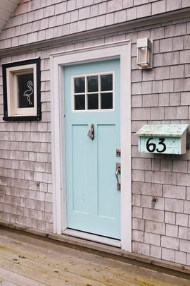 La maison pastel de Nouvelle-Écosse