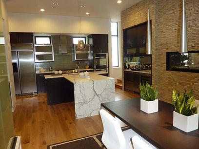 Upscale modern kitchen design