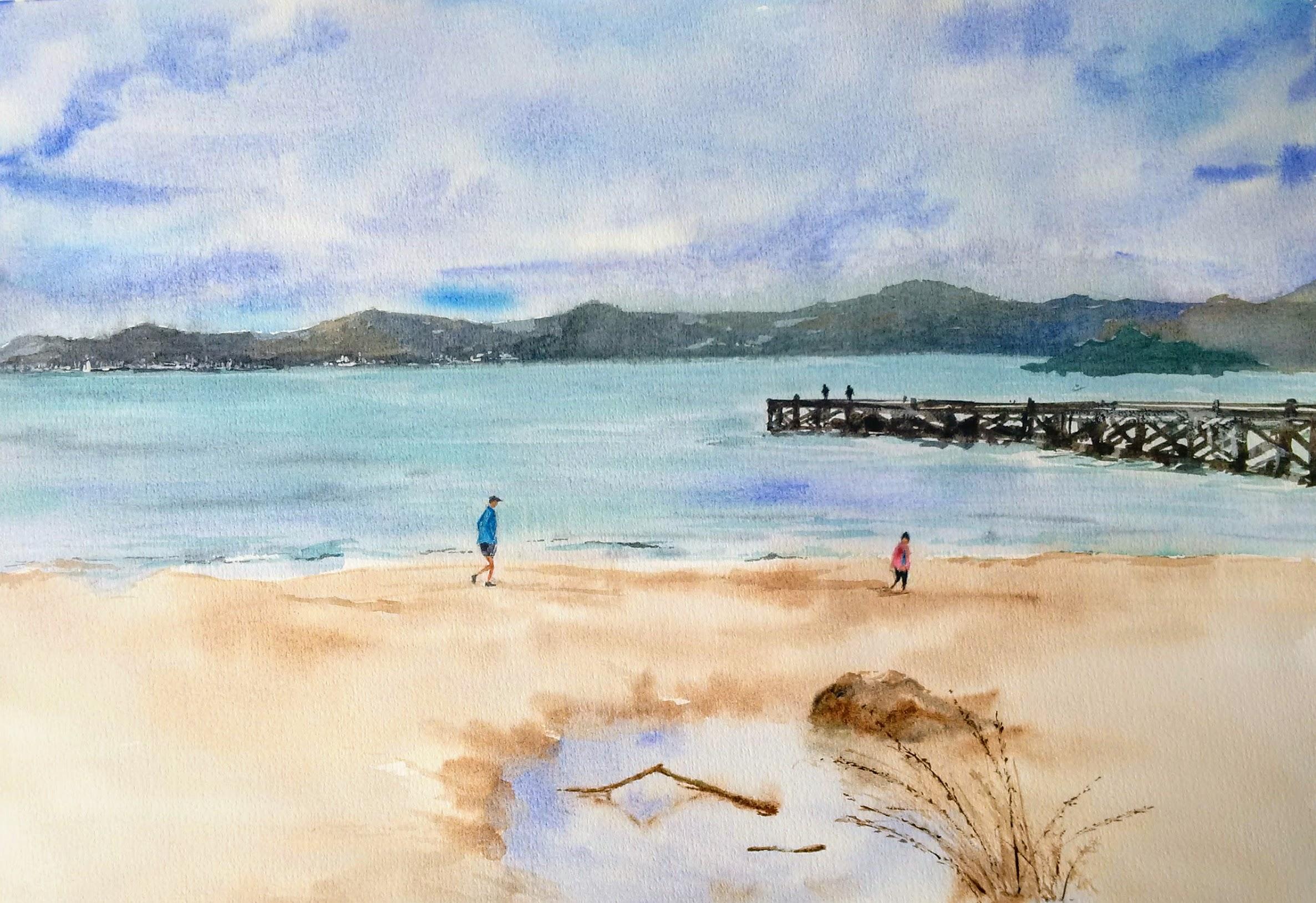 Sunny Day - Eastbourne Beach
