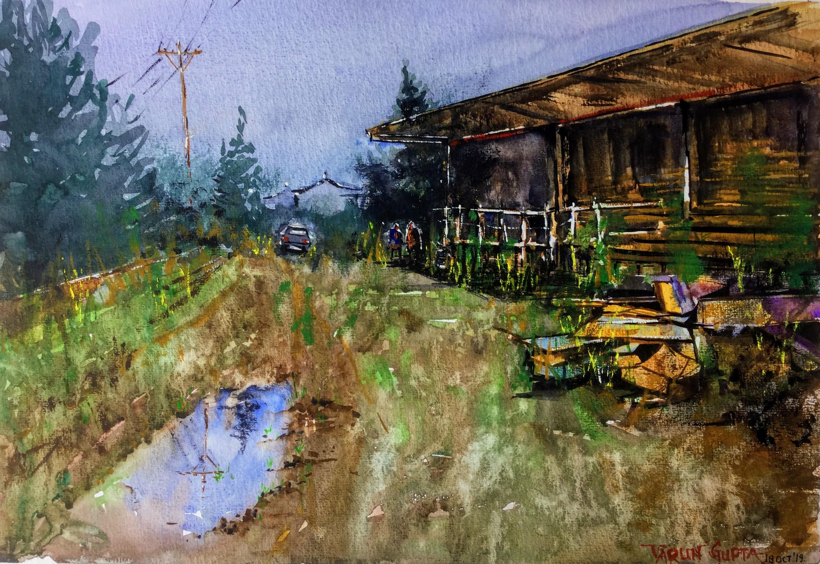 Rural Life - Wood Mill - Ohakune