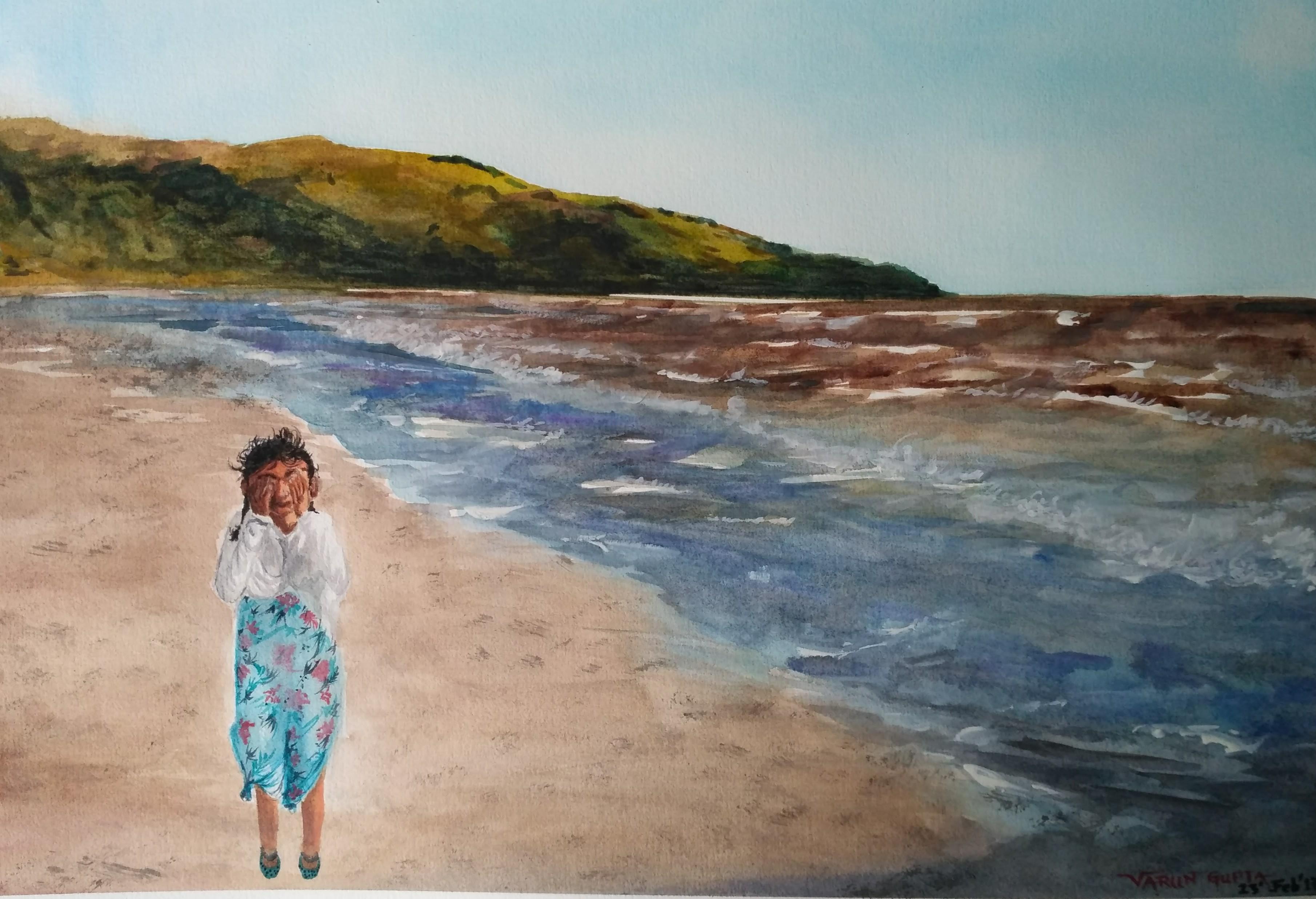 My love at shore - Paraparaumu Beach