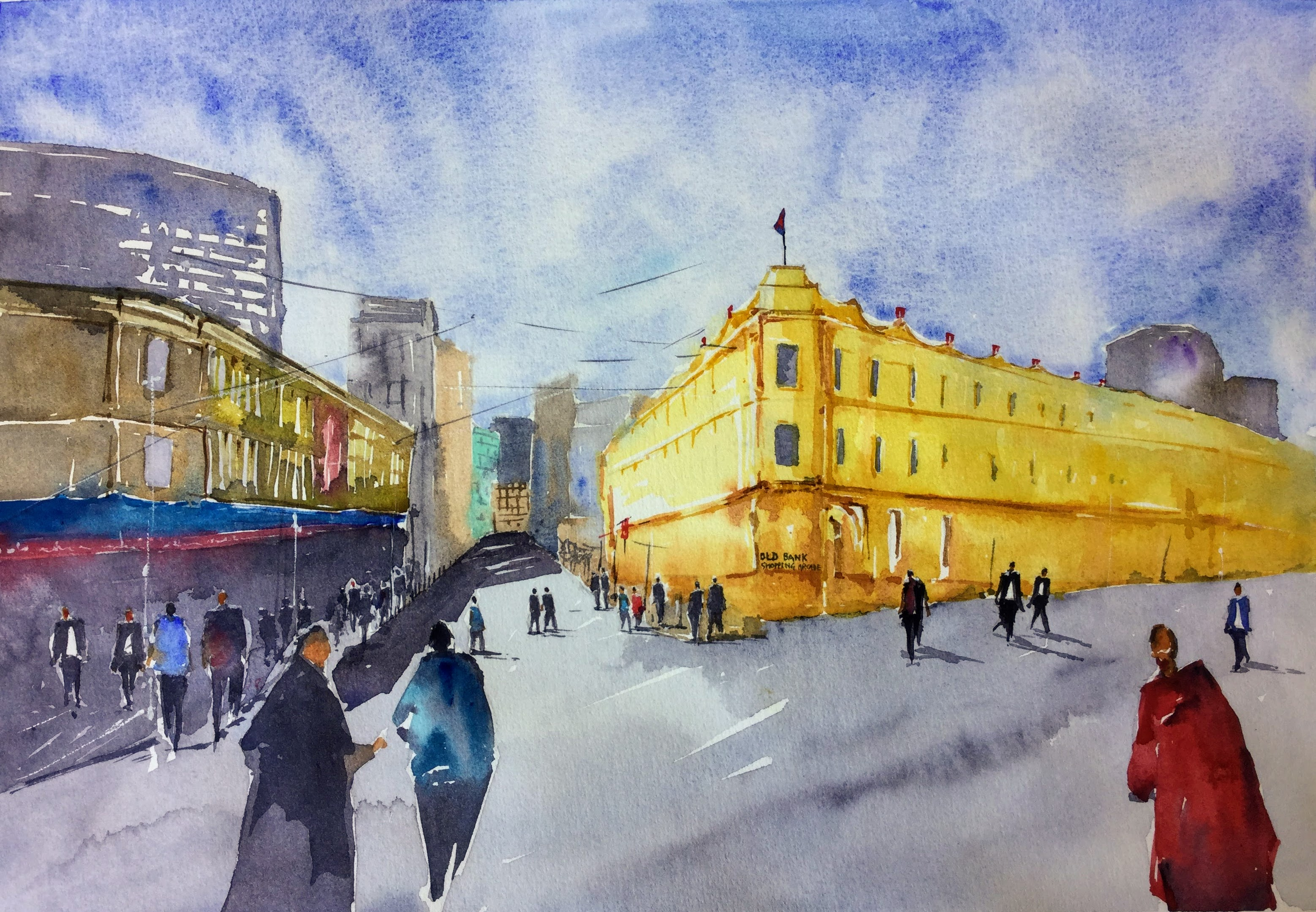 Old Bank Arcade - Wellington