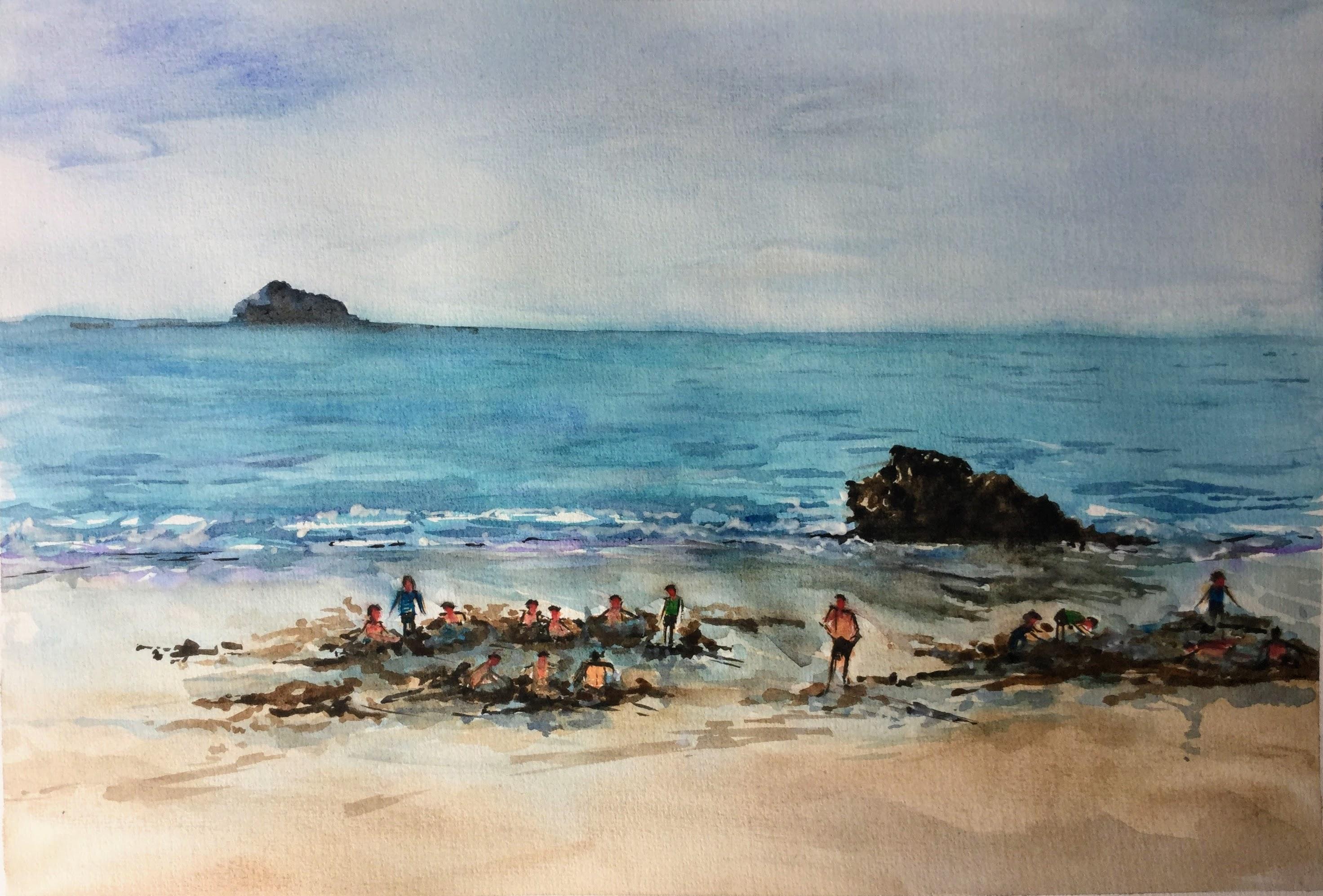 Hot Water Beach - Coromandel NZ