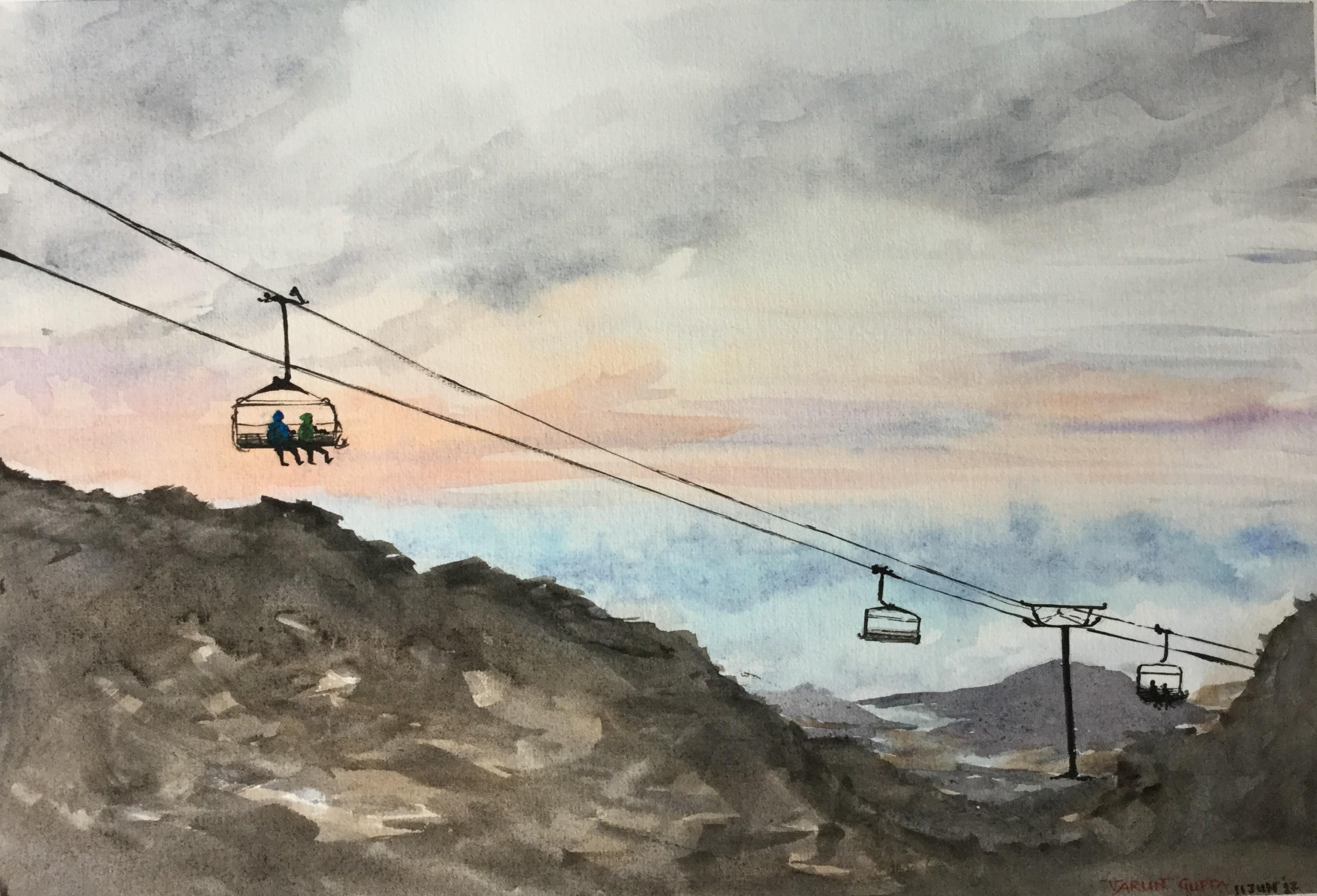 Mt Ruapehu - Dusk