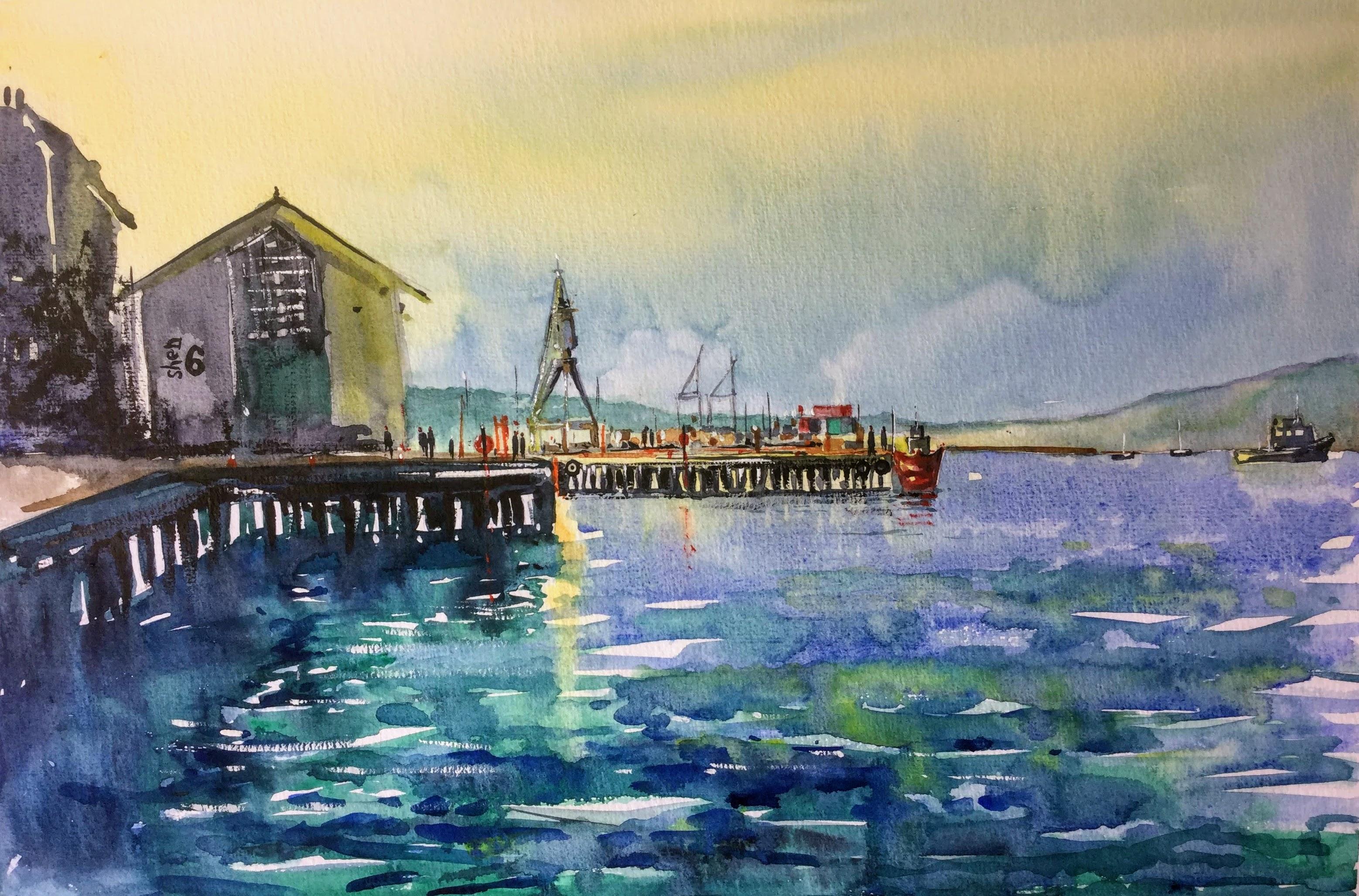Shed69 Wellington Harbour