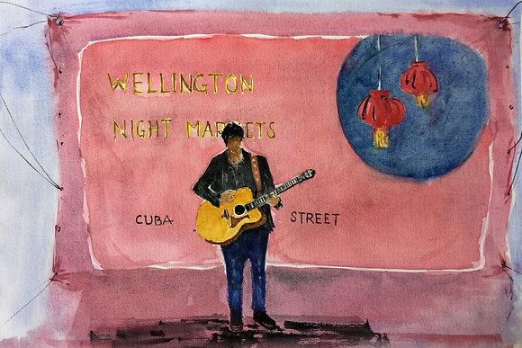 Cuba Street Night Markets - Wellington