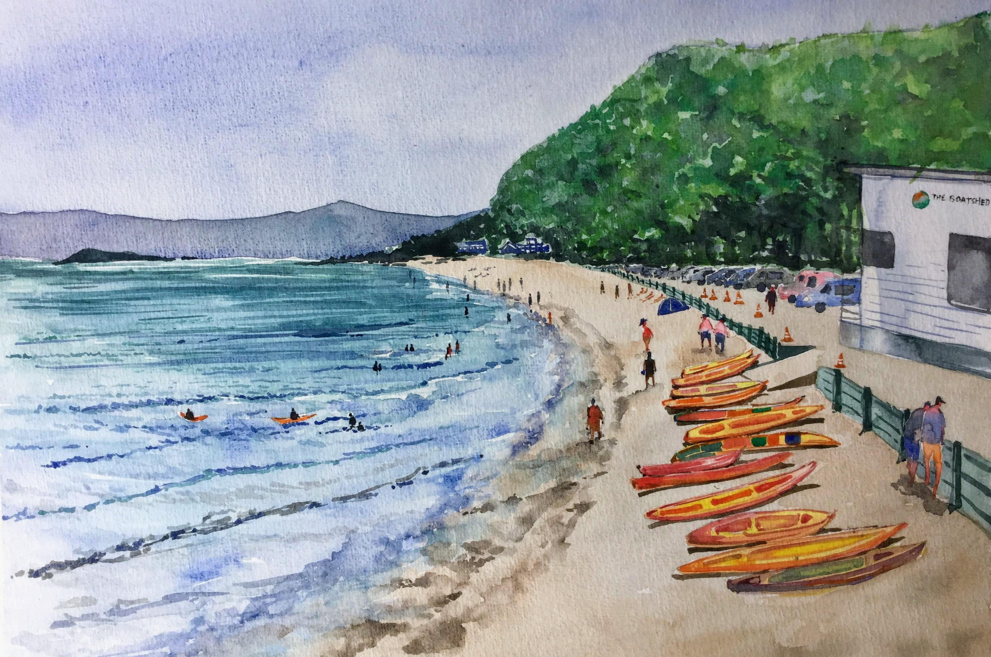 Summer'18 at Eastbourne Beach