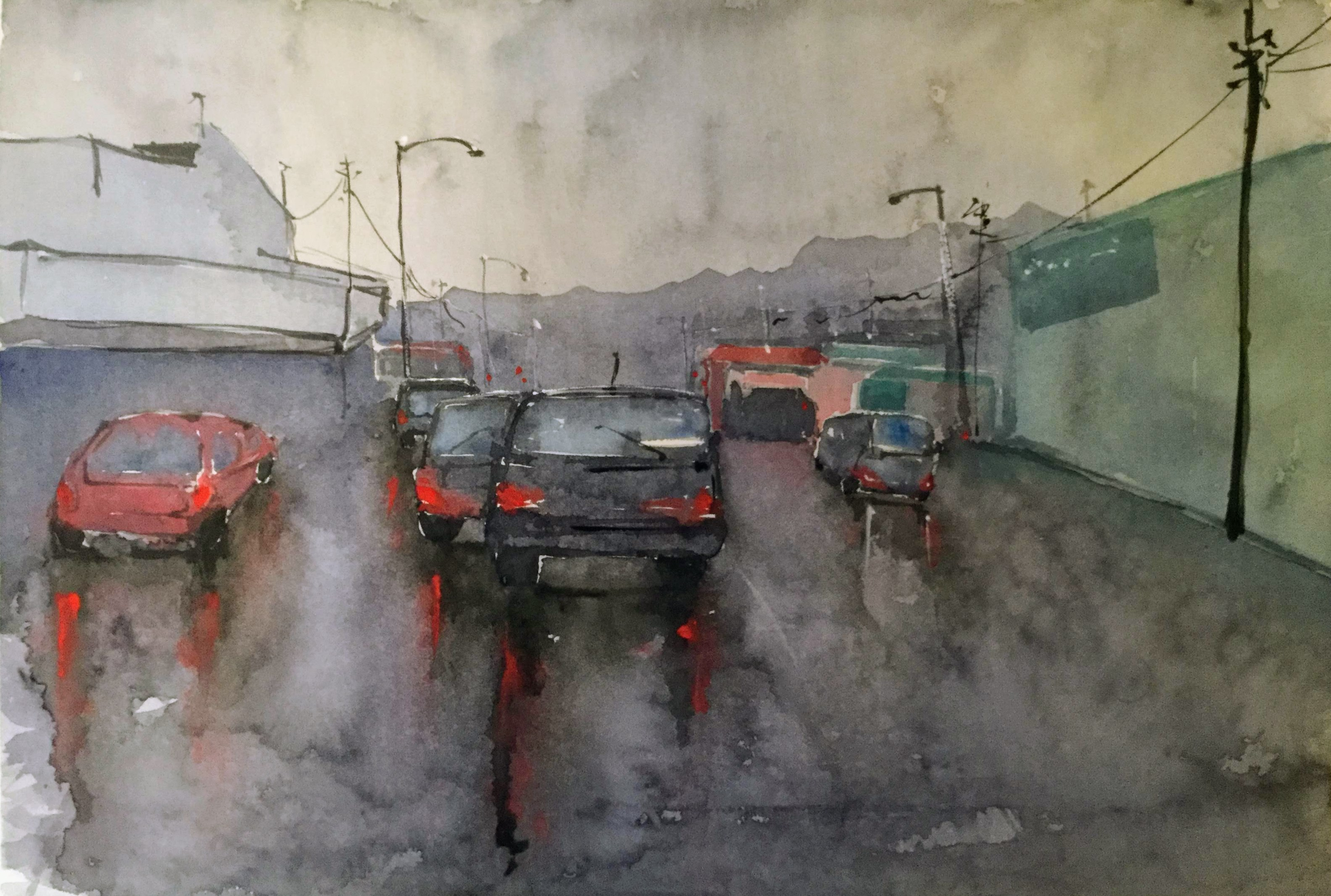 A Soaking Day - Lower Hutt
