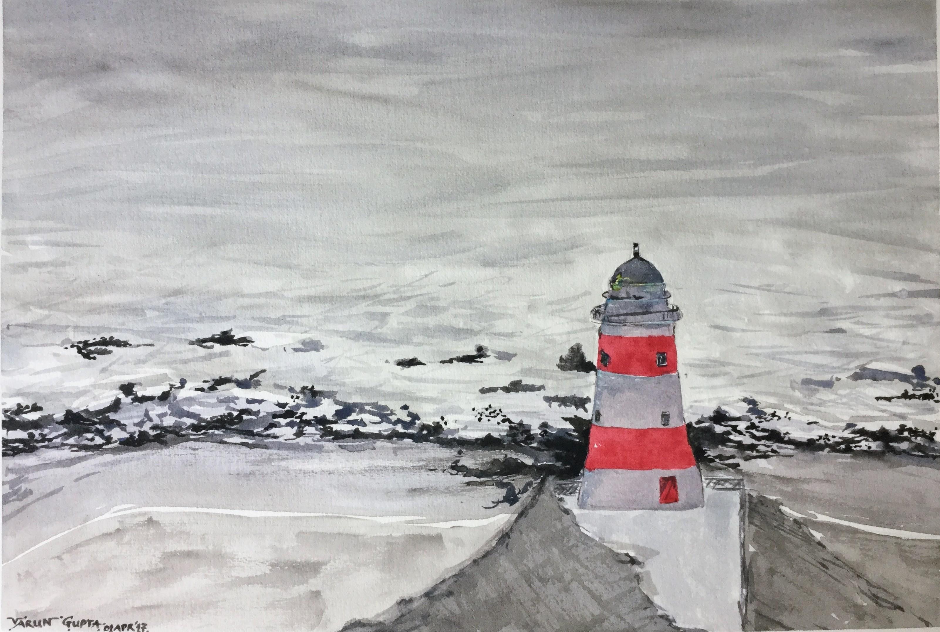Cape Palliser - Meeting Horizon