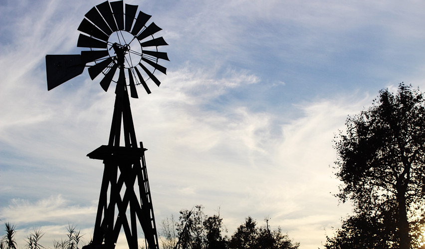 Look for the windmill on Trabuco Creek Road