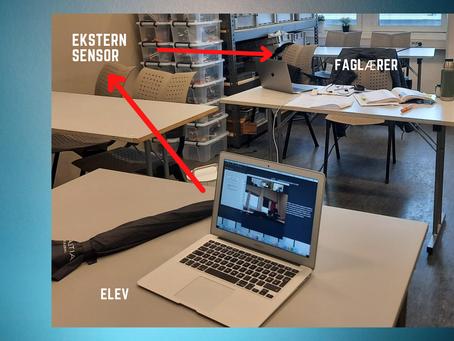 Erfaringsdeling: Hører du meg nå? (Prøve-)muntlig eksamen med digital sensor