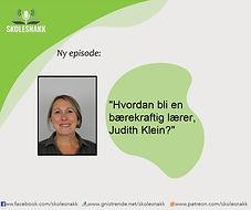 Episodebilde 6 - Judith Klein baerekraft