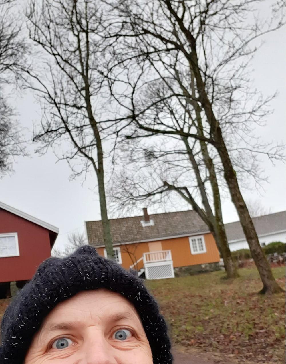 Munchs hus i Åsgårdstrand. Hvilket motiv er jeg?