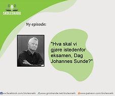 Episodebilde 5 Dag Johannes Sunde eksame