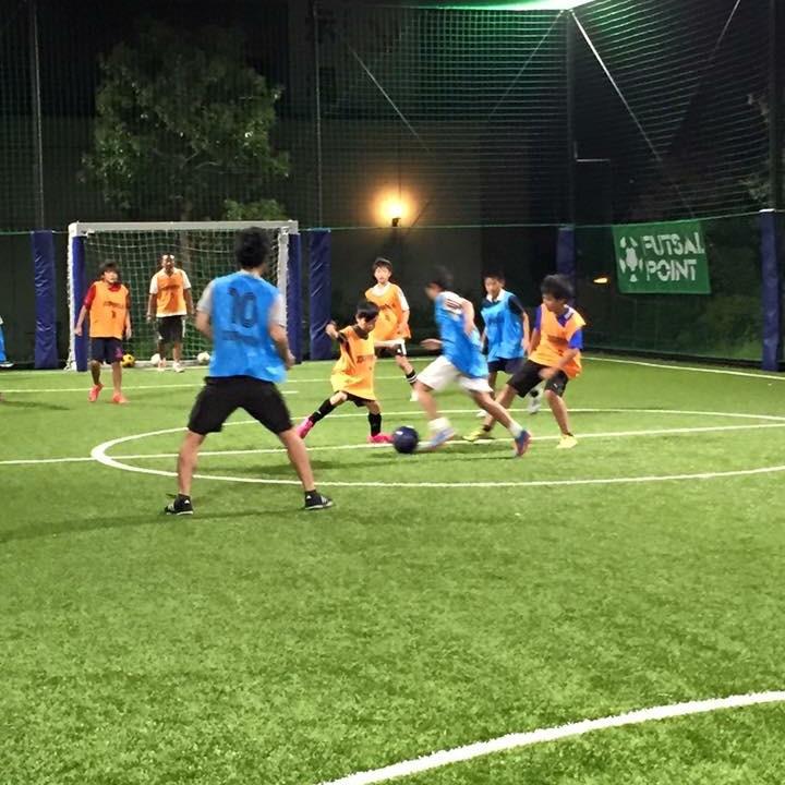 サッカースクール交流戦