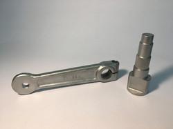 Komponenten einer Bremse