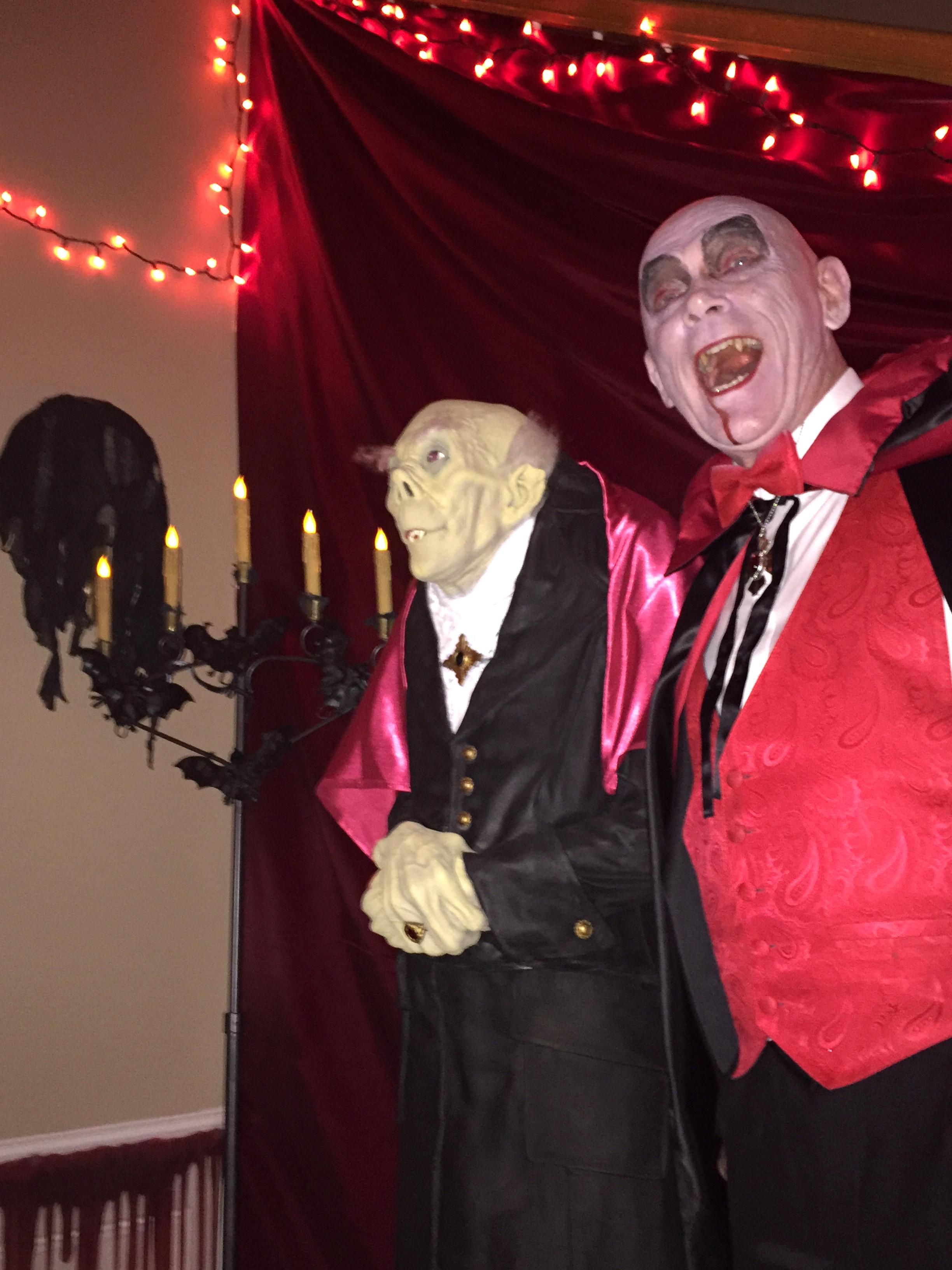 Count Dracu-West & his pal, Mr. Hyde