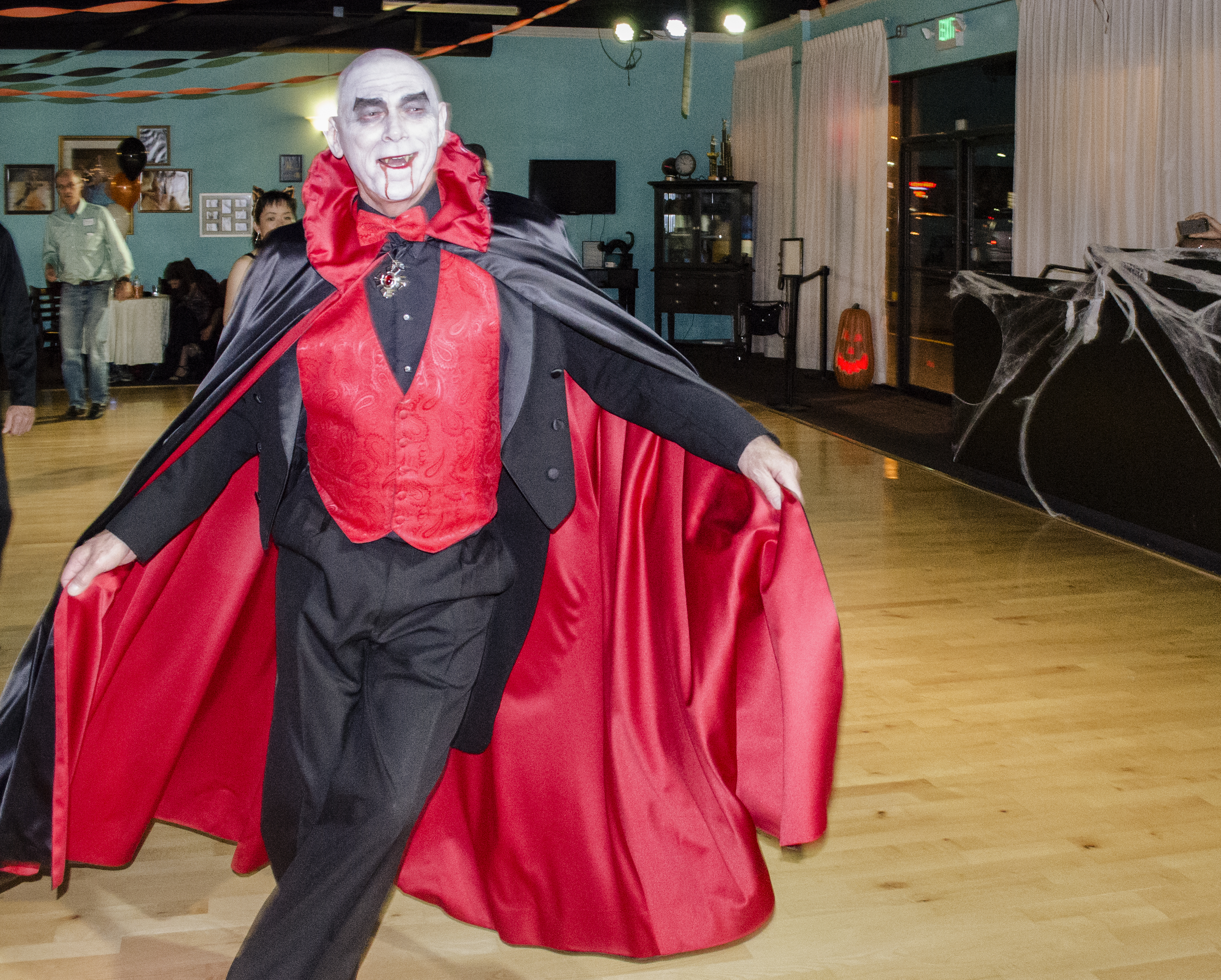 Dancing gets Dracula's blood flowing