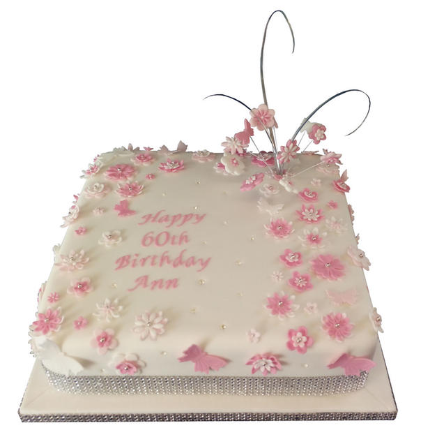 60th Birthday Cake from £150