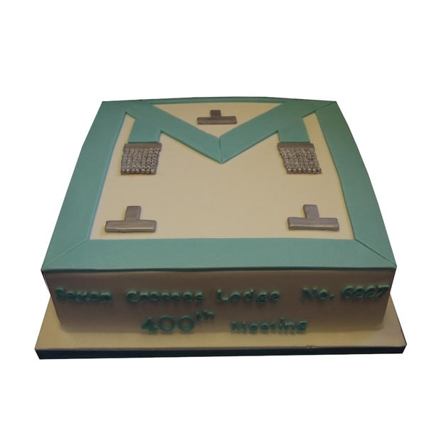 Masonic Apron Cake from £125