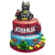 Lego Superhero Cake from £175