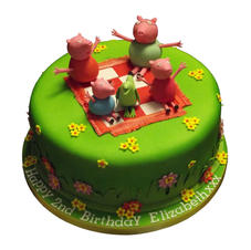 Peppa Pig Cake from £125