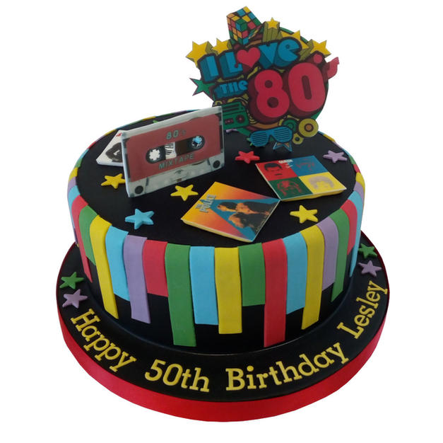 80's Cake from £85