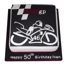 Moto GP Cake from £90