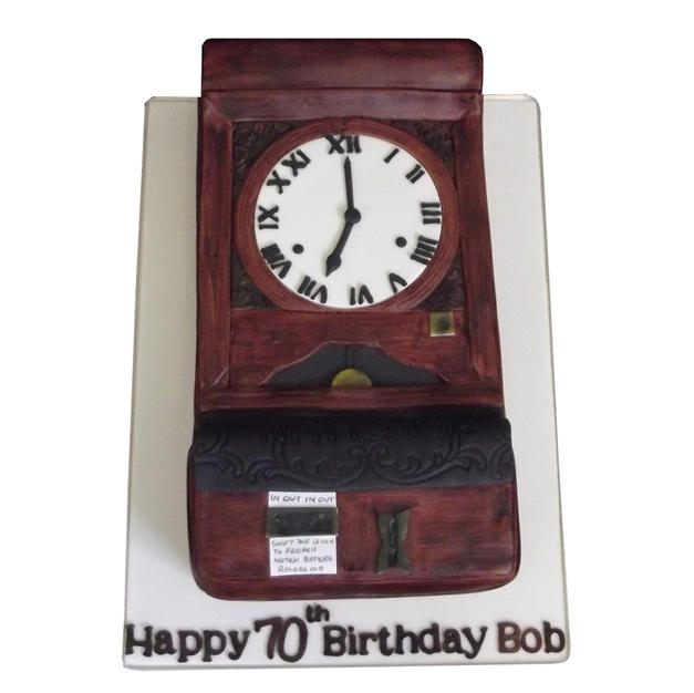 Battersea Power Station Clock Cake from £150