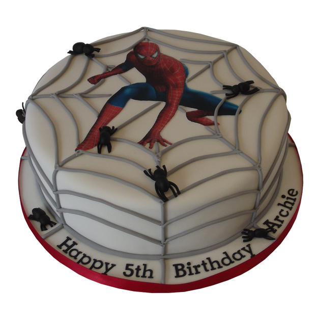 Spiderman Cake from £100